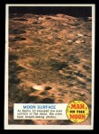 1969 Topps Man on the Moon #30 A  Moon Surface Front Thumbnail