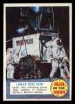 1969 Topps Man on the Moon #6 A  Lunar Test Run Front Thumbnail