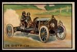 1953 Bowman Antique Autos #17   De Dietrich Front Thumbnail