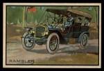 1953 Bowman Antique Autos #37   Rambler Front Thumbnail