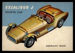 1954 Topps World on Wheels #6   Excalibur-J Front Thumbnail
