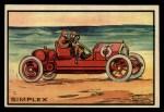 1953 Bowman Antique Autos #43   Simplex Front Thumbnail