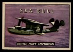 1952 Topps Wings #176   Sea Gull Front Thumbnail