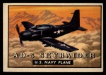 1952 Topps Wings #138   AD-5 Skyraider Front Thumbnail