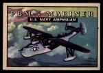 1952 Topps Wings #139   PBM-5 Mariner Front Thumbnail
