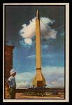 1954 Bowman Power for Peace #74   7 1/2 Ton Missile Makes 3900 MPH Front Thumbnail