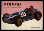1954 Topps World on Wheels #63   Ferrari Front Thumbnail