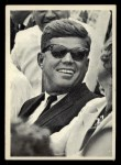 1964 Topps JFK #70   Enjoys An Anecdote At The Ballpark Front Thumbnail