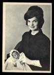 1964 Topps JFK #63   Jackie Poses With Son John Jr. Front Thumbnail