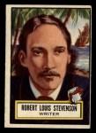 1952 Topps Look 'N See #116  Robert L Stevenson  Front Thumbnail