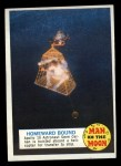 1969 Topps Man on the Moon #9 A  Homeward Bound Front Thumbnail