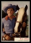 1953 Topps Who-Z-At Star #2  Rex Allen  Front Thumbnail