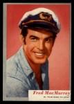 1953 Topps Who-Z-At Star #9  Fred MacMurray  Front Thumbnail
