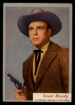 1953 Topps Who-Z-At Star #15  Scott Brady  Front Thumbnail