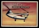 1952 Topps Wings #161   MC-4 Front Thumbnail