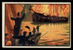 1954 Bowman U.S. Navy Victories #28   Decatur Burns the Philadelphia Front Thumbnail