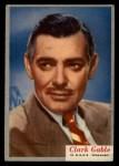 1953 Topps Who-Z-At Star #39  Clark Gable  Front Thumbnail
