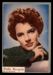 1953 Topps Who-Z-At Star #28  Polly Bergen  Front Thumbnail