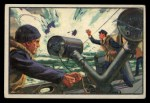 1954 Bowman U.S. Navy Victories #16   Y Gun Helps Defeat Enemy Front Thumbnail
