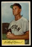 1954 Bowman #114  Willard Nixon  Front Thumbnail