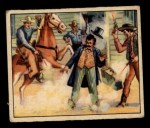1949 Bowman Wild West #5 E  Cowboy's Go to Town Front Thumbnail