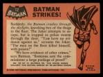 1966 Topps Batman Black Bat #12 BLK  Batman Strikes Back Thumbnail