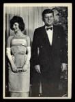1964 Topps JFK #25   JFK & Jackie At The White House Front Thumbnail