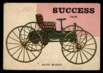 1954 Topps World on Wheels #60   Success Auto Buggy 1906 Front Thumbnail