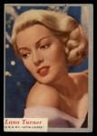 1953 Topps Who-Z-At Star #54  Lana Turner  Front Thumbnail