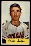 1954 Bowman #99 ALL Pete Suder  Front Thumbnail