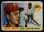 1955 Topps #130  Mayo Smith  Front Thumbnail