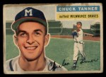 1956 Topps #69  Chuck Tanner  Front Thumbnail
