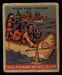1933 Goudey Indian Gum #194   Indian Naval Warfare  Front Thumbnail