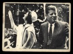 1964 Topps JFK #74   Sen. & Jackie In N.Y. During Campaign Front Thumbnail