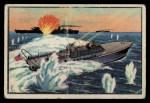 1954 Bowman U.S. Navy Victories #34   11 Men against 500 Front Thumbnail