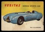 1954 Topps World on Wheels #51   Veritas Front Thumbnail