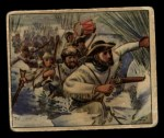 1949 Bowman Wild West #1 A  Capturing British Fort Front Thumbnail