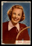 1953 Topps Who-Z-At Star #43  June Allyson  Front Thumbnail