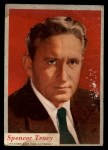 1953 Topps Who-Z-At Star #64  Spencer Tracy  Front Thumbnail