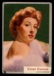 1953 Topps Who-Z-At Star #55  Greer Garson  Front Thumbnail