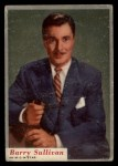 1953 Topps Who-Z-At Star #72  Barry Sullivan  Front Thumbnail