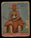 1933 Goudey Indian Gum #36  The Buffalo Bull   Front Thumbnail