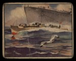 1939 Gum Inc. War News Pictures #61   German Schnellboote Front Thumbnail