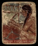1933 Goudey Indian Gum #155  Weaving   Front Thumbnail