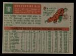 1959 Topps #181  Bob Porterfield  Back Thumbnail