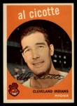 1959 Topps #57  Al Cicotte  Front Thumbnail