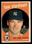 1959 Topps #471  Tom Sturdivant  Front Thumbnail