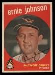 1959 Topps #279  Ernie Johnson  Front Thumbnail