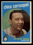 1959 Topps #264  Chico Carrasquel  Front Thumbnail