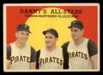 1959 Topps #17   -  Frank Thomas / Ted Kluszewski / Danny Murtaugh Danny's All-Stars Front Thumbnail